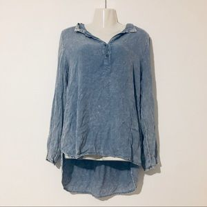 Kori Denim Wash Blouse